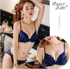 Fashion sexy adjustable thin thick adjustable bra set women underwear bra set