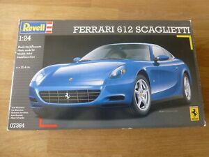 Revell 1:24 Ferrari 612 Scaglietti No 07364