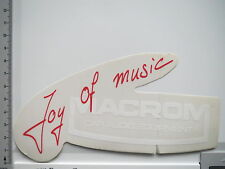 Aufkleber Sticker Macrom - Car Audio - Equipment - Joy of Music (S1321)