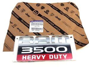 2007-2012 Dodge RAM 3500 Heavy Duty Nameplate Emblem Badge Decal new OEM