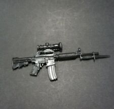 """1:6 Scale Rifle for custom 12"""" Action Figure M-16 A2 M4 C8A1 AR-15"""