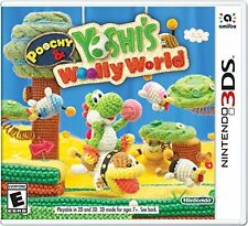 NEW Nintendo Poochy and Yoshi's Woolly World - Nintendo 3DS Standard Edition