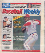 Lee Smith St. Louis Cardinals USA Today Baseball Weekly July 12 - 18 1991