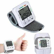 Wrist Automatic Blood Pressure Monitor Pulse/Heart Rate Reading VoiceReminder