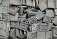 *NEW* Lego Light Grey Tiles 2x2 Stud Flat Plates House Floors Building 20 pieces