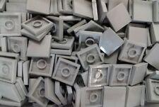 *NEW* Lego Light Grey Tiles 2x2 Stud Flat Gray Plates Walls Floors - 20 pieces