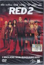 Dvd **RED 2** con B.Willis J.Malkovich M.Parker C.Zeta-Jones B.Lee nuovo 2013