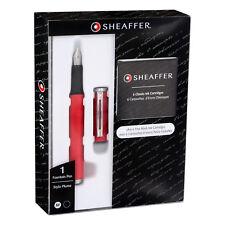 Sheaffer Award Matte Red Fountain Pen with Medium Nib