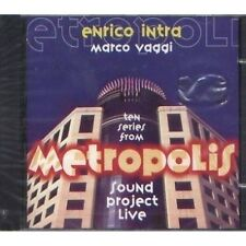 ENRICO INTRA - Metropolis - MARCO VAGGI CD 1998 SIGILLATO SEALED