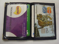 Soft leather Travel Pass,Oyster,Credit Card,Train Ticket Wallet Many Colours