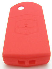 Car key case holder Silicon for Mazda 2, 3, 5, 6 Red