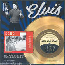 LIBERIA 2012 'ELVIS PRESLEY' GOOD LUCK CHARM  RECORD S/SHEET  MINT NH