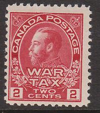 Le Canada 1915 2c carmine-red SG 229 neuf sans charnière.