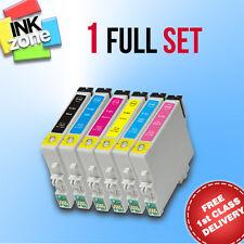 Conjunto Completo De No-OEM Cartuchos de tinta para la impresora Epson Stylus Photo R200 R220 R300