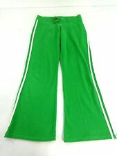 VANITY WOMENS GREEN COTTON SPANDEX SWEAT PANTS SIZE M VERY NICE!