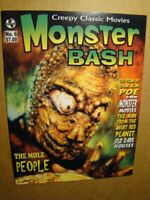 MONSTER BASH 6 *NM/MT 9.8* MOLE PEOPLE EDGAR ALLEN POE RED PLANET FAMOUS MONTERS