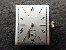 20.8 X 18.6MM SOLVIL PAUL DITISHEIM SWISS WRIST WATCH MOVEMENT - KEEPING TIME