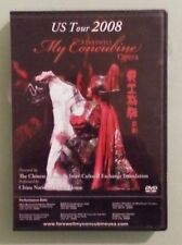 us tour 2008 FAREWELL MY CONCUBINE china national opera house  DVD