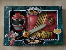 Power Rangers Red Wild Force Ranger Electronic Action Set Pre Owned Toy Quest