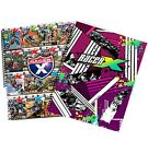 NWT Smooth Industries MX Motocross Racer X 2-Pack 5x7 Spiral Notebooks