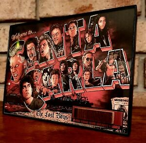 The Lost Boys House Siding Wood Movie Prop Framed Display Piece