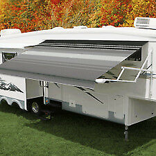 18' Carefree Travel'r Electric RV Awning (complete with arms and LED lights!)