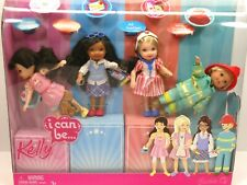 2007 Mattel Kelly I Can Be 4 Doll Career Set #L8567 New