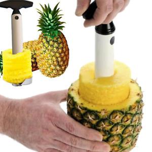 Easy Slicer Fruit Pineapple Corer Slicer Peeler Cutter Parer Kitchen Tool kit