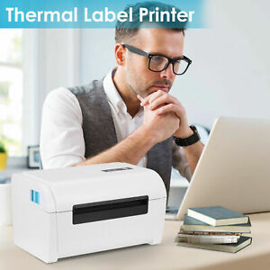 Thermal Label Printer USB Type Thermal Barcode Printer 100mm High Speed Precisio