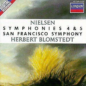 Nielsen: Symphonies 4 & 5, Blomstedt, , Used; Good CD