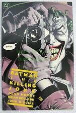 Batman Joker Origin The Killing Joke High Grade! Key Alan Moore Story! 3rd Print