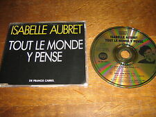 ISABELLE AUBRET MAXI CD PROMO TOUT LE MONDE CABREL