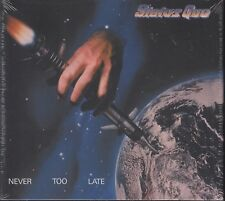 Status Quo / Never Too Late (3-CD-Deluxe Edition, NEU! OVP)