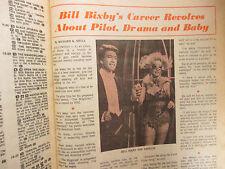 April-1973 Boston Sunday Herald TVue Magazi(BILL BIXBY/REDD FOXX/VALERIE HARPER)