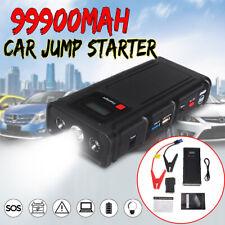 12V Portable Mini 99900mAh Car Jump Starter Engine Battery Charger Power Bank US