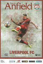 Liverpool v Chelsea - FA Premiership - 25 November 2017 - MINT - Unread