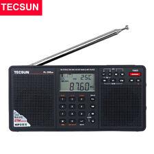 TECSUN PL-398MP Radio AM FM Stereo SW MW LW Band Alarm Clock MP3 Player Black