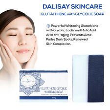 Glutathione with Glycolic & Lactic Acid-Anti-Acne Skin Lightening Bleaching Soap