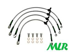 HONDA CIVIC TYPE R 2.0 EP3 STAINLESS STEEL BRAIDED BRAKE LINES HOSES PIPES US