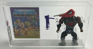 MOTU Vintage Loose Mosquitor with Comic Series 6 No COO 1987 UKG 85%