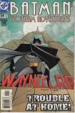 BATMAN: GOTHAM ADVENTURES 59...NM-...2003...Waynecorp Scandal!...VHTF Bargain!