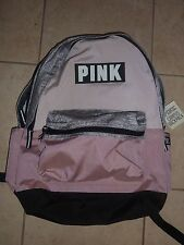 VICTORIAS SECRET PINK NEWEST SOLD OUT FULL SIZE BACKPACK ZIP BOOK LAPTOP NWT