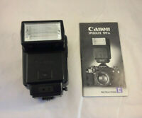 Canon Speedlite 199A Shoe Mount Flash with Manual Spares Repair Faulty