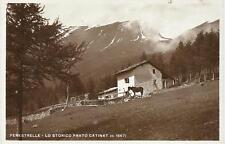 FENESTRELLE - LO STORICO PRATO CATINAT ( m. 1847) _ CARTOLINA VIAGGIATA 1937