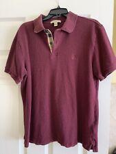 Men's Burberry Polo shirt M short sleeve Medium
