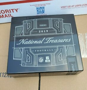 2019 Panini National Treasures Football ***Empty*** Wood Cigar Style Boxe