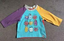 T-shirt multicolore pour garçon de 0 à 24 mois