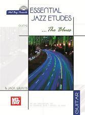 Essential jazz etudes... la guitare blues