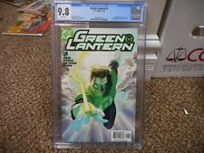 Green Lantern 1 cgc 9.8 Alex Ross variant cover DC 2005 movie Justice League WHT