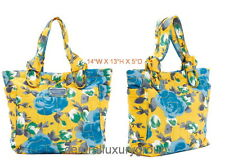 Marc by Marc Jacobs Preppy Nylon Jerrie Rose Lil Tate Tote Yellow Medium $198